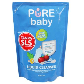 Harga Pure Baby Liquid Cleanser Refill 450Ml