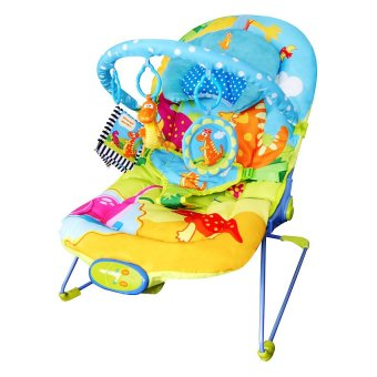 Harga Sugar Baby Fun Dino Baby Bouncer - Biru