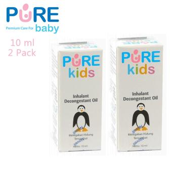 Harga Pure Baby Inhalant Decongestant Oil 10 Ml - 2 Pack