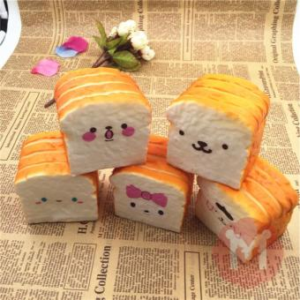 Harga SQUISHY KAWAII JUMBO TOAST BREAD ROTI