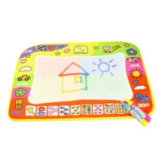 UINN 29*45.5cm Kids Write Draw Paint Magic Doodle Mat Baby Play Mat With