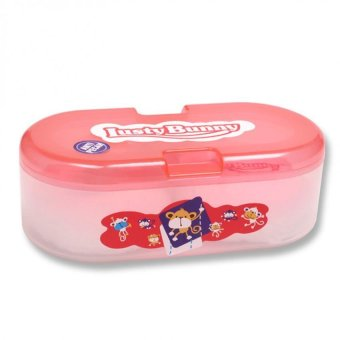 Harga LustyBunny - Baby Oval Powder Case
