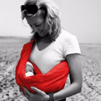 Harga MINIMONKEY BABY SLING 100% COTTON (4-IN-1) RED