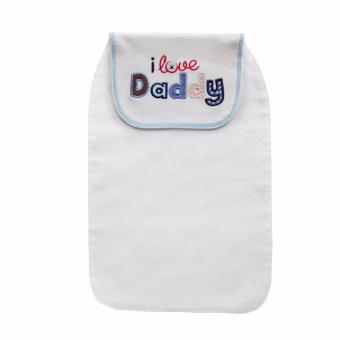 Harga Hooded Towels Cute styles Cotton Baby Sweat Towel Back Children Perspiration Wipes Cloth - intl