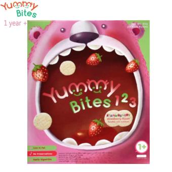 Harga Yummy Bites For Toddler 123 Strawbearry - Strawberry(Na)