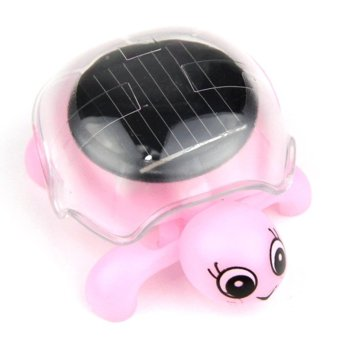 Harga Solar Turtle with Micro Vibration Motor - Pink