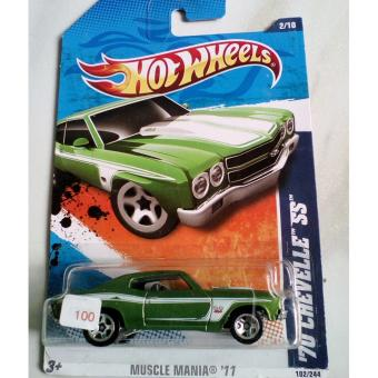 Harga Hot Wheels - 70 Chevelle SS Green