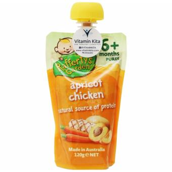 Harga Rafferty's Garden Apricot Chicken Baby Puree (120g)
