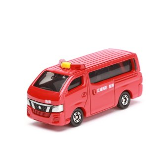 Harga Tomica Nissan NV350 Caravan Fire Chieft Car