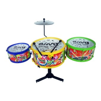 Ocean Toy Drum Set Mainan Edukasi Anak - OCT0106-6 - Multicolor