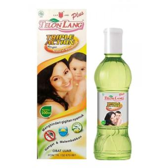Harga Cap Lang Minyak Telon Lang Plus Triple Action - 100 ml