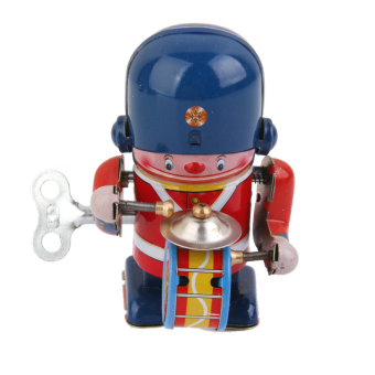 Harga Wind Up Drummer Tin Toy