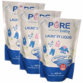 Harga Pure Baby Laundry Liquid 450ml Buy 2 Get 3