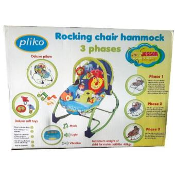 Harga Pliko Rocking Chair PK-308 Hammock 3 Phases