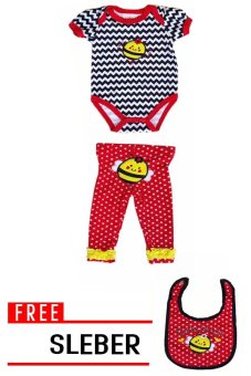 Harga Freeshop Jumper 2 in 1 Cute As Can F813 - Merah