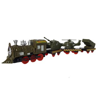 Harga Ocean Toy Train Military Mainan Anak - OCT0052