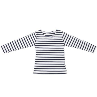 Harga Kids Girls Long Sleeve Striped T-shirt Summer Tops Clothes - intl