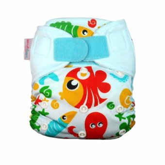 Cluebebe Cloth Diapers Pocket Classic Motif Seaworld