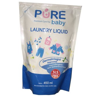 Harga Pure Baby Laundry Liquid 450ml