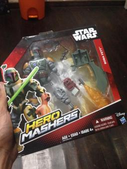 Harga Hasbro Star Wars Hero Masher Boba Fett