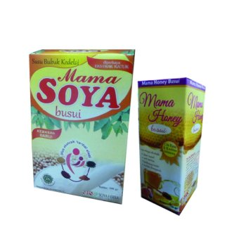 Harga Mama Soya (1 Pcs) + Mama Honey - Madu Busui (1 Pcs)