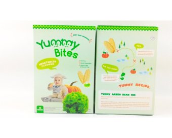 Harga Yummy Bites - Rice Cracker 25 Gram-Vegetable Flavour