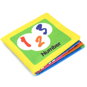 Harga Educational Intelligence Development Soft Cloth Learn Cognize Book For Kids Baby Number- intl