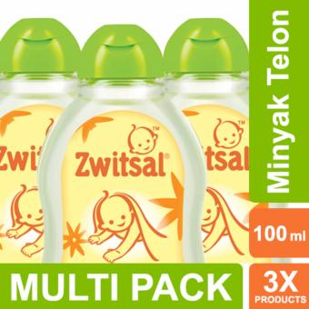 Harga Zwitsal Baby Natural Minyak Telon - 100ml MULTI PACK