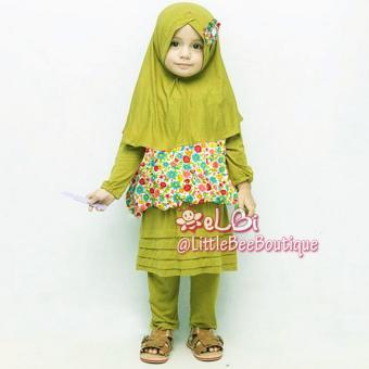 eLBi - Uliya Legging Set Baju Muslim Anak Balita