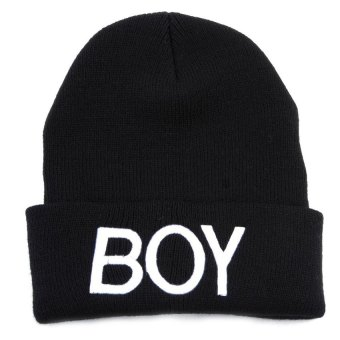 Harga Baby Girls Boys Knitted Woolen Skull Hats Toddler Ski Hats BOY Beanie Caps for Children Kids Baby - intl