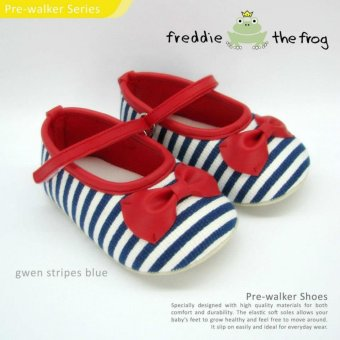 Harga SEPATU BAYI / PREWALKER SHOES by FREDDIE THE FROG - GWEN STRIPE BLUE