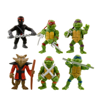 Harga New 6Pcs Teenage Mutant Ninja Turtles Figures Toy Toys Classic Collection