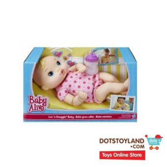 Harga Baby Alive Luv & Snuggle Baby Doll - Blonde