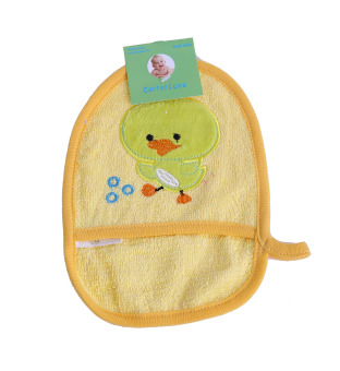 Harga Freeshop Washlap BathMittt Baby S165 Duck - Kuning