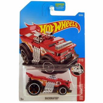 Harga Hot Wheels Backdrafter - Red