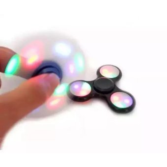 Harga Mainan Fidget Hand Spinner Lampu Led Disco Lamp Toys Spiner New Gasing