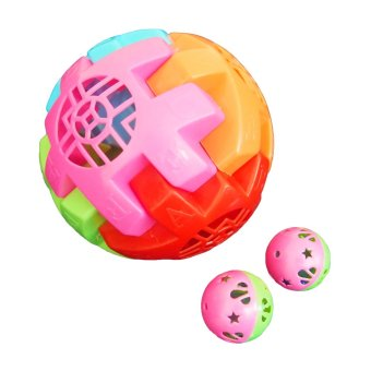 Harga Ocean Toy Bola Kerincingan Set Of 2 Mainan Anak OCT3009 - Multicolor