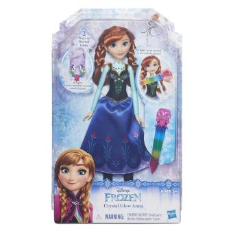 Harga Frozen Fashion Doll Crystal Glow Anna
