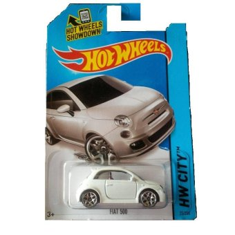 Harga Hot Wheels Fiat White