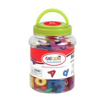 Harga Magnetic Letters & Numbers - 80 Buah
