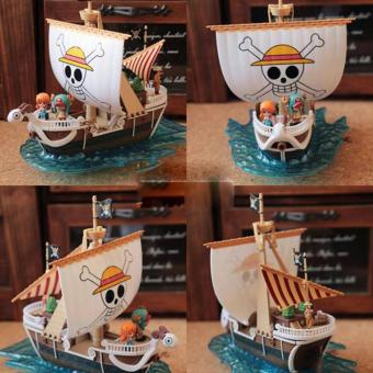 Harga Model Kit / Miniatur One Piece Grand Ship Going Merry