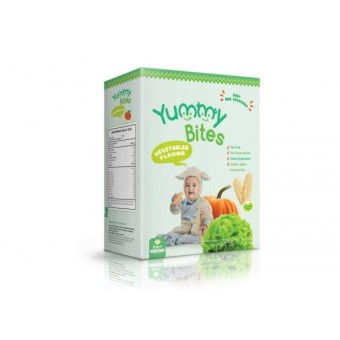 Harga Yummy Bites Baby Rice Cracker 50 gram - Vegetables