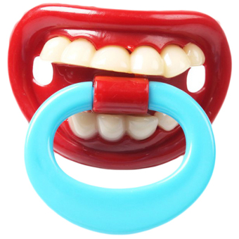 Harga Yingwei Funny Pacifier for Baby #4 Red