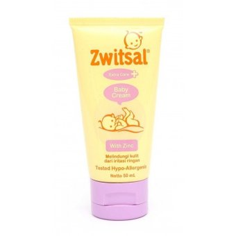 Harga Zwitsal Extra Care Baby Cream with Zinc 50 ml