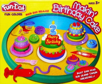 Harga Fun-Doh Lilin Mainan Makin Birthday