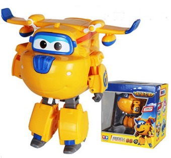 Big!!!15cm Super Wings Deformation Airplane Robot Action Figures Super Wing Transformation Toys 3 - intl