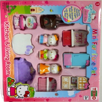 Harga Sanrio HK Mini Furniture Kitchen & Living Room/6