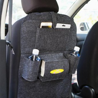 Harga Car seat storage bag Hanging bags car seat back bag Car product Multifunction Car Storage - intl