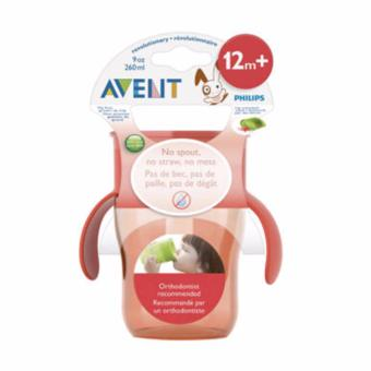 Harga Hot Deal - AVENT 12m+ Grown Up Cup - Orange *1