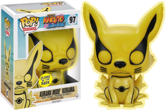 Funko Pop! Animation: Naruto - Kurama Kyubi Mode Glow in the Dark 6""
